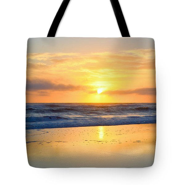 Tote Bag featuring the photograph Pea Island In November by Barbara Ann Bell