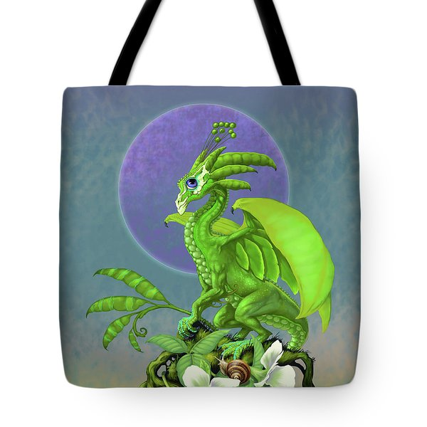 Pea Pod Dragon Tote Bag