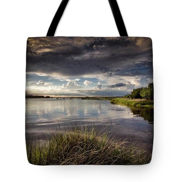 Peace Along The Cape Fear Tote Bag