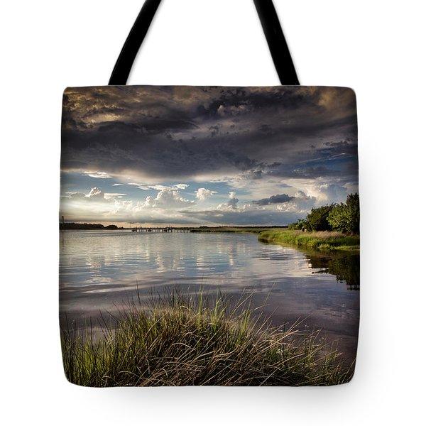 Peace Along The Cape Fear Tote Bag