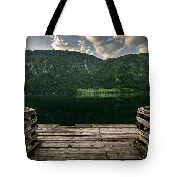 Peace And Clarity Tote Bag