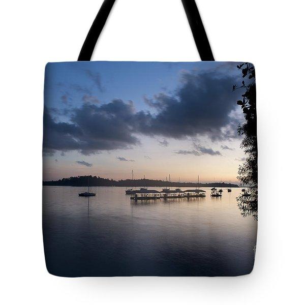 Peace Before Sunrise Tote Bag