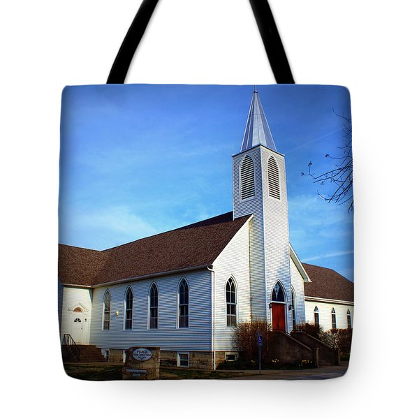 Peace Church Tote Bag