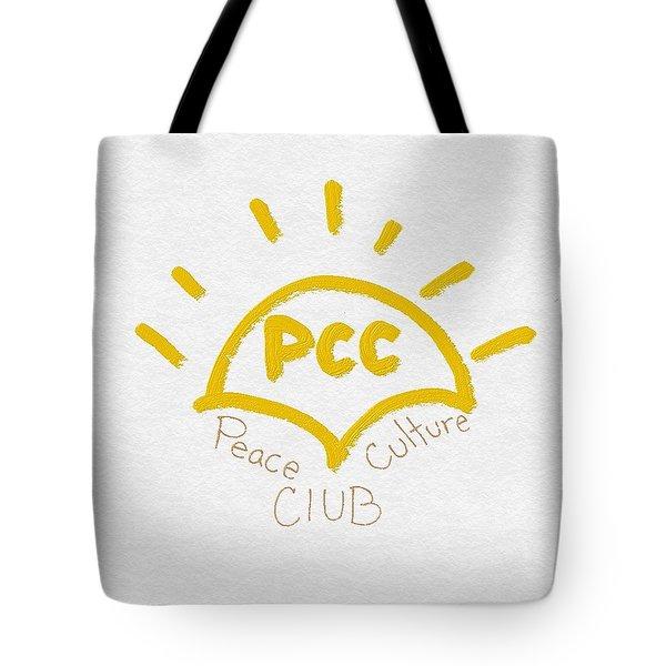 Peace Culture Club Logo Tote Bag by Joshua Stepney
