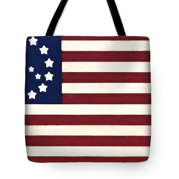 Peace Flag Tote Bag by Bill Cannon