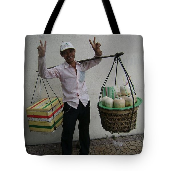 Peace From Vietnam Tote Bag