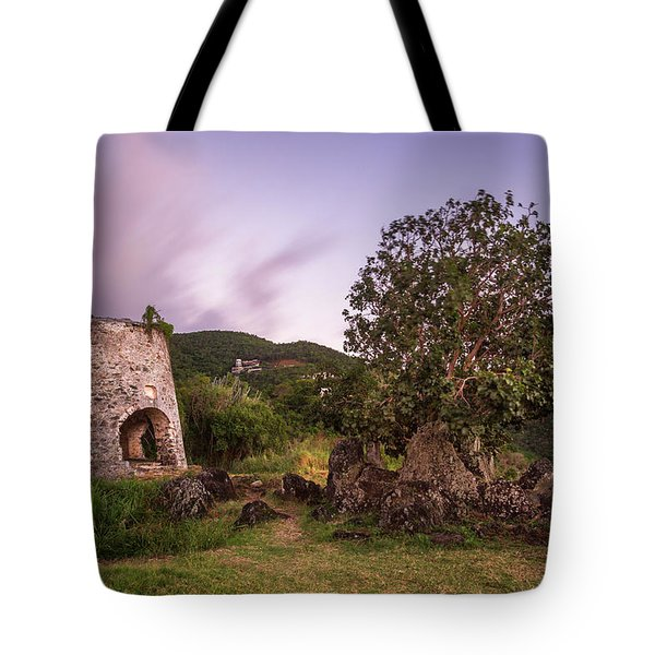 Tote Bag featuring the photograph Peace Hill Ruins by Adam Romanowicz