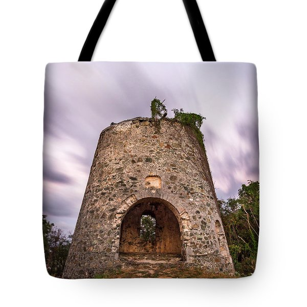 Tote Bag featuring the photograph Peace Hill Sugar Mill by Adam Romanowicz