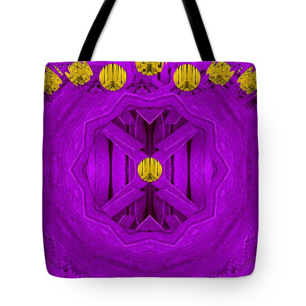 Peace In Colors Tote Bag