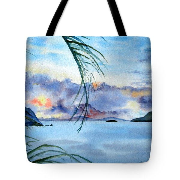 Peace In The Caribbean Tote Bag