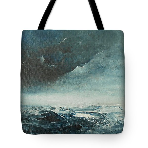 Peace In The Midst Of The Storm Tote Bag