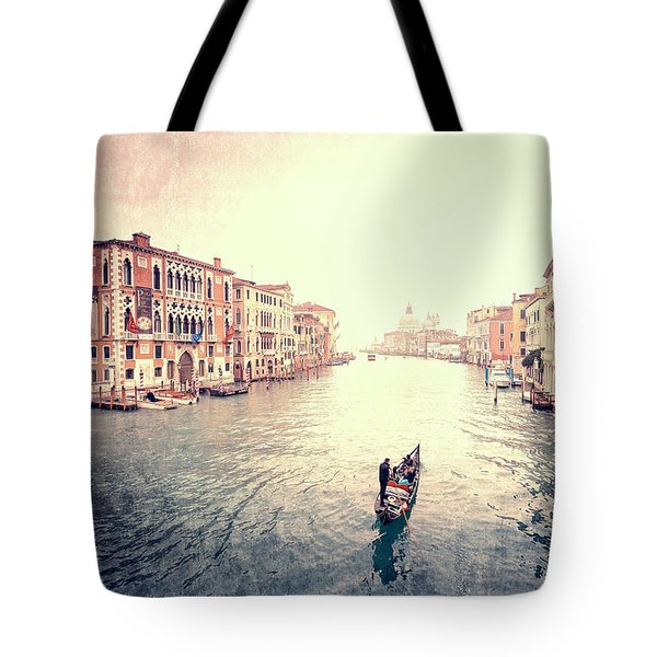 Peace In Venice Tote Bag