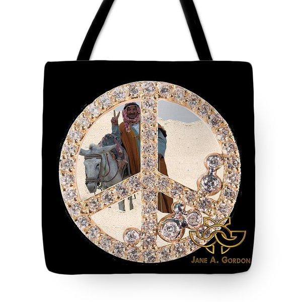 Peace Inside Peace Tote Bag