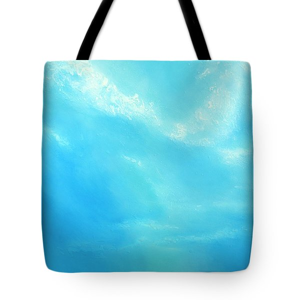 Peace Tote Bag by Jaison Cianelli
