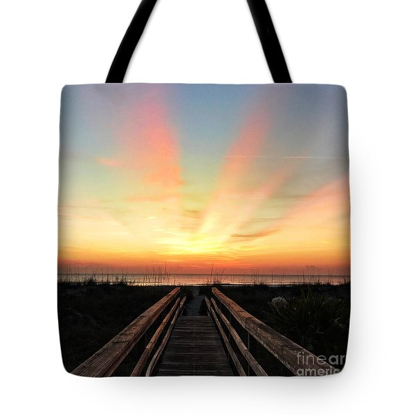 Tote Bag featuring the photograph Peace  by LeeAnn Kendall