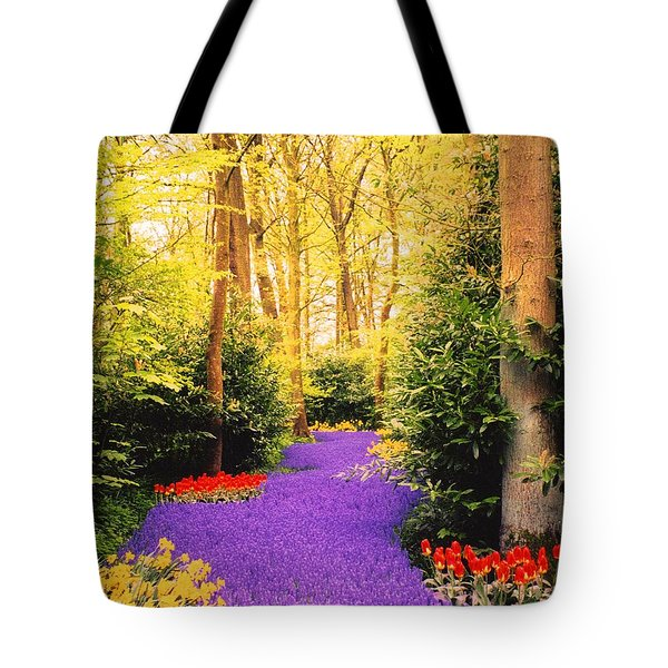Peace, Like A River Tote Bag