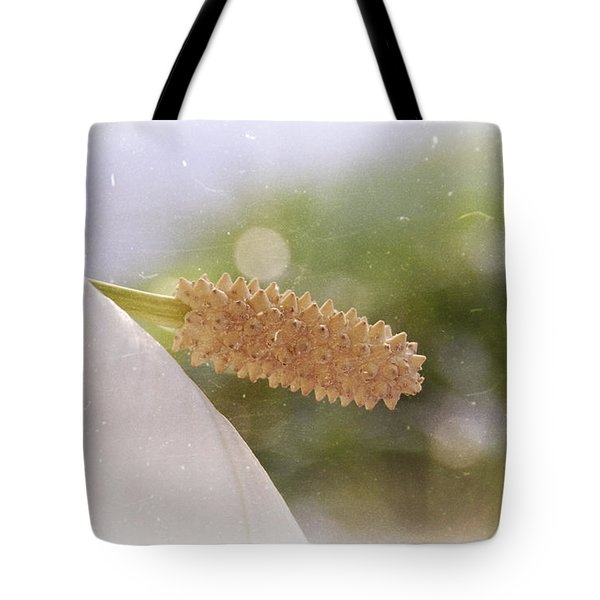 Peace Lily Tote Bag