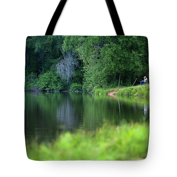 Tote Bag featuring the photograph Peace by Lori Coleman