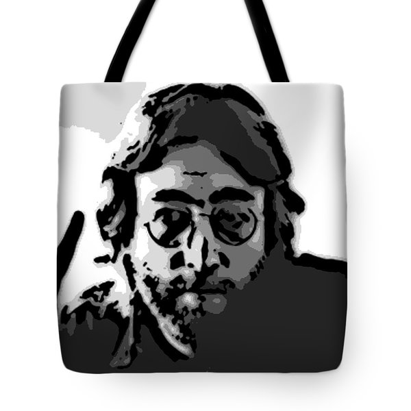 Peace Man Tote Bag by George Pedro
