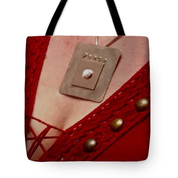 Peace Medallion Tote Bag by Jack Eadon