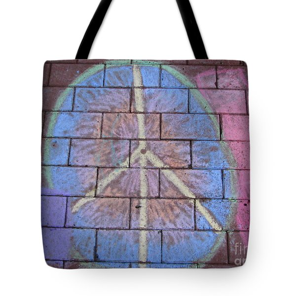 Tote Bag featuring the photograph Peace by Michael Krek
