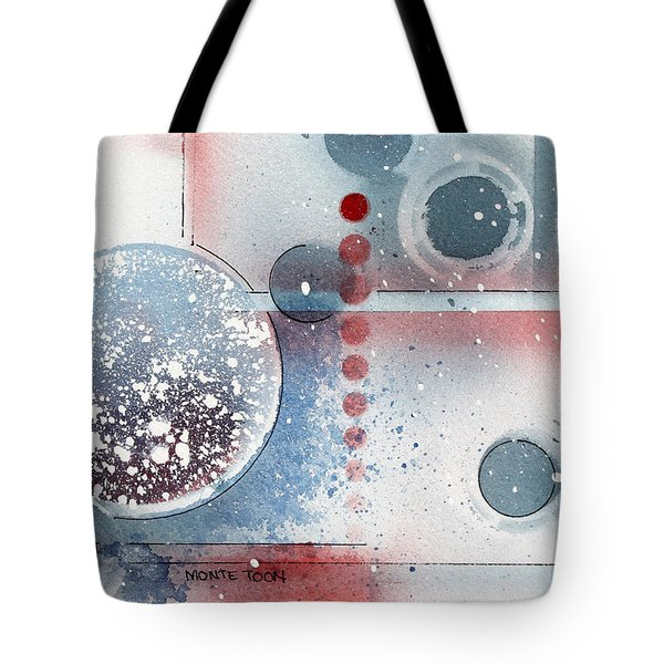 Peace Tote Bag by Monte Toon
