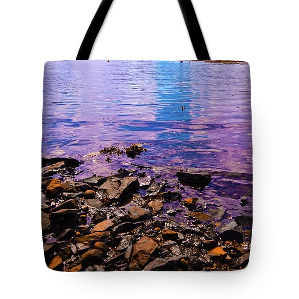 Peace Of Colors  Tote Bag