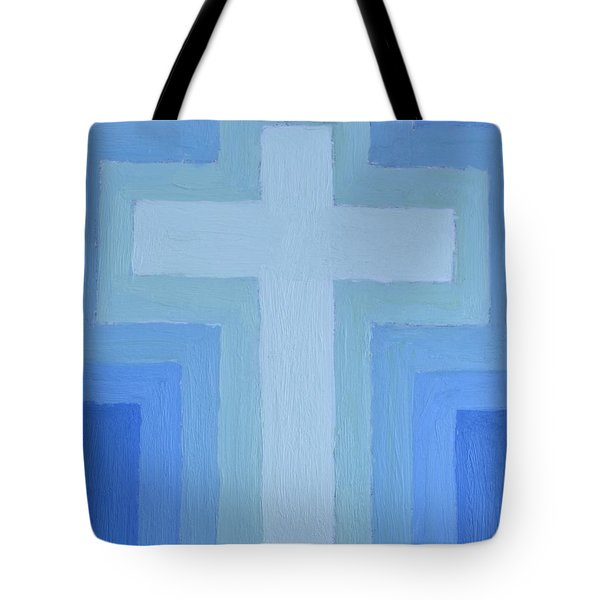 Peace Of The Cross Tote Bag