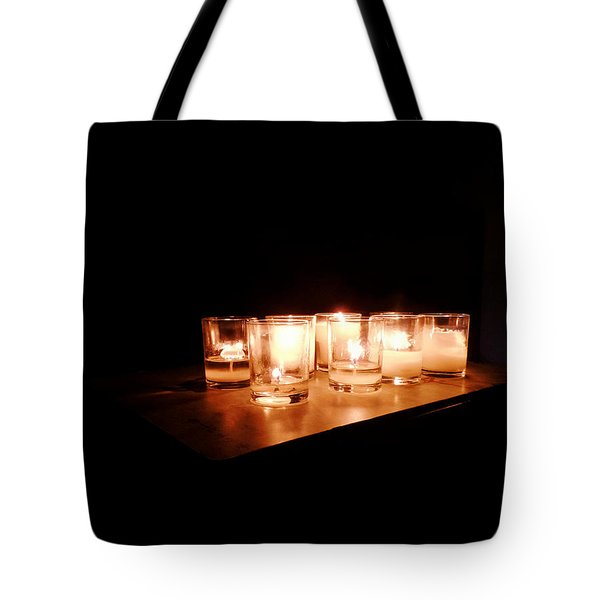 Peace On A Stormy Night Tote Bag