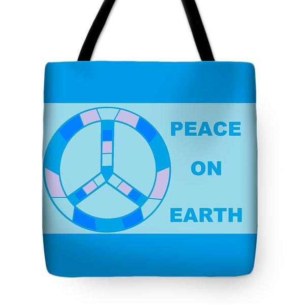 Peace On Earth 3 Tote Bag