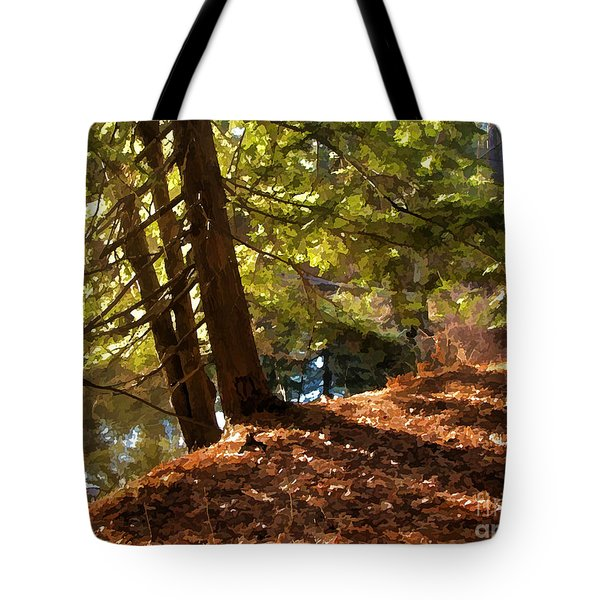 Peace On Earth Tote Bag by Betsy Zimmerli