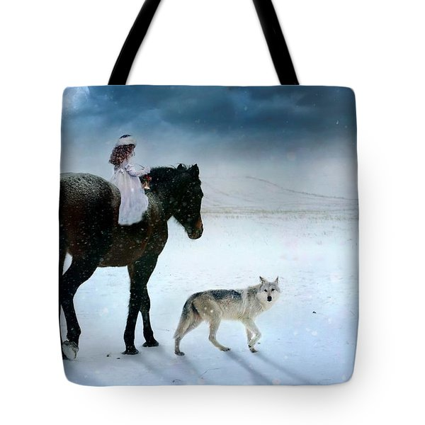 Peace On Earth Tote Bag by Dorota Kudyba
