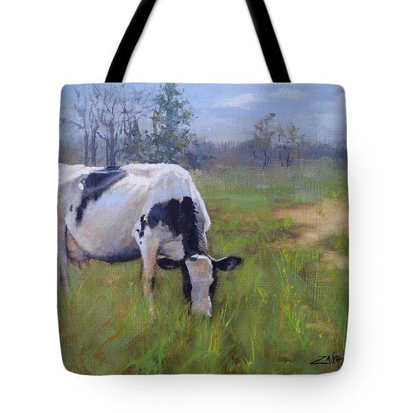 Tote Bag featuring the painting Peace On Earth Four by Laura Lee Zanghetti