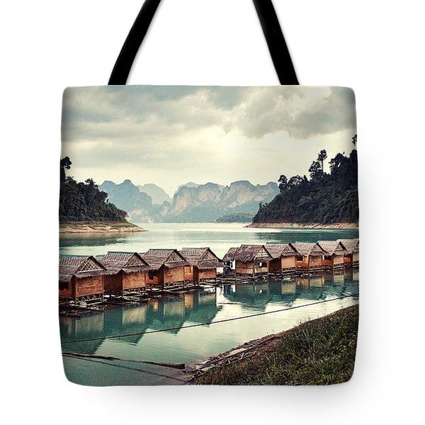 Peace On The Lake Tote Bag