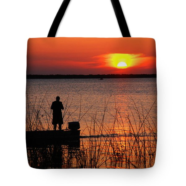 Peace Over The Water Tote Bag