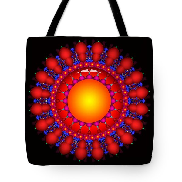 Tote Bag featuring the digital art Peace by Robert Orinski