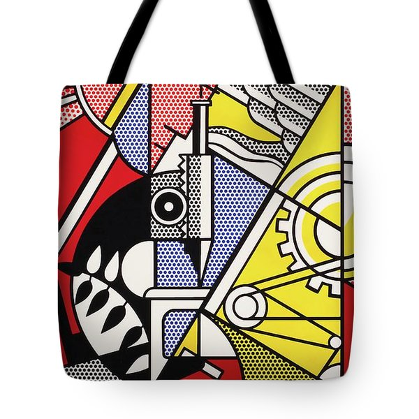 Peace Through Chemistry I - Roy Lichtenstein Tote Bag