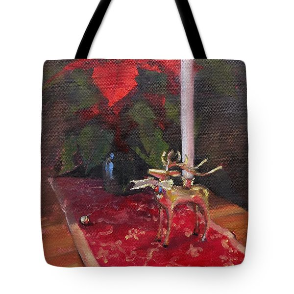 Tote Bag featuring the painting Peace To All by Laura Lee Zanghetti
