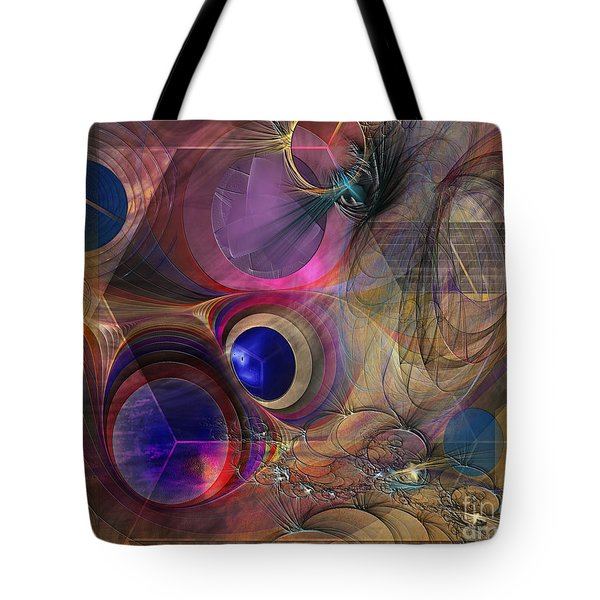 Peace Will Come Tote Bag by John Robert Beck