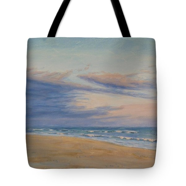 Tote Bag featuring the painting Peaceful by Joe Bergholm