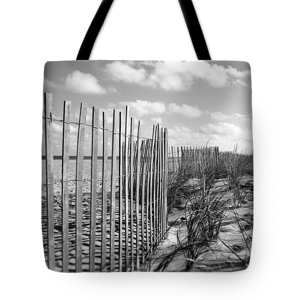 Tote Bag featuring the photograph Peaceful Beach Scene by Denise Pohl