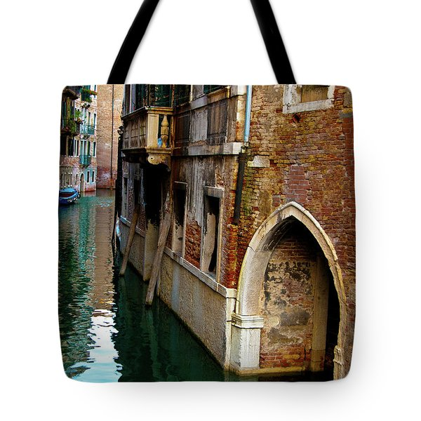 Tote Bag featuring the photograph Peaceful Canal by Harry Spitz
