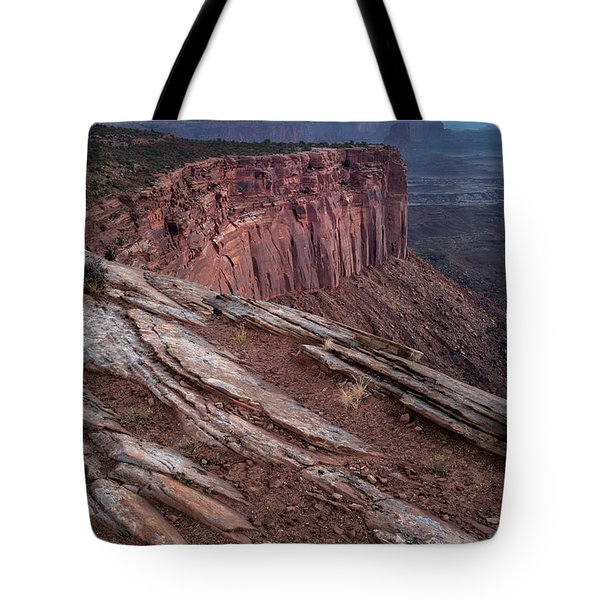 Peaceful Canyon Morning Tote Bag