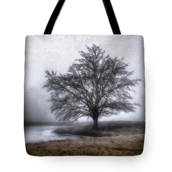Peaceful Country Setting Tote Bag