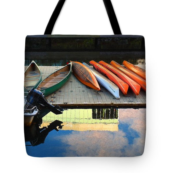 Peaceful Day Tote Bag