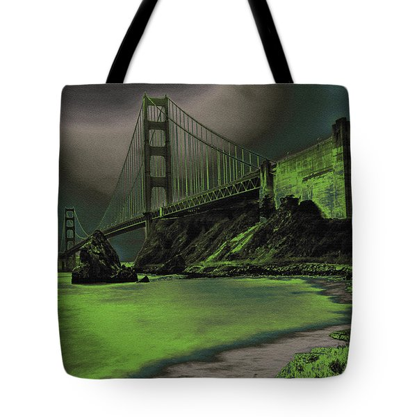 Peaceful Eerie Feeling Tote Bag