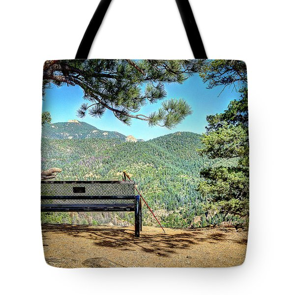 Peaceful Encounter Tote Bag by Deborah Klubertanz