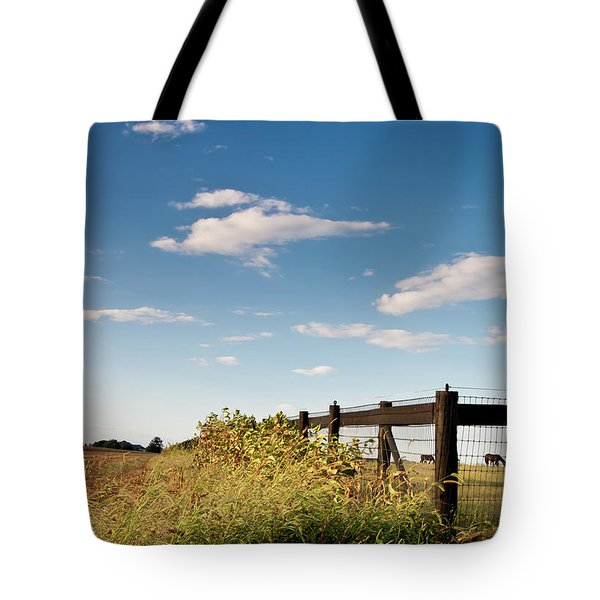 Peaceful Grazing Tote Bag
