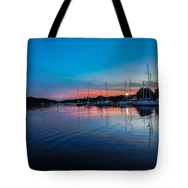 Peaceful Horizons  Tote Bag