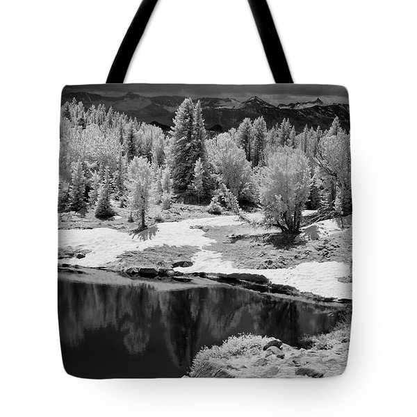 Peaceful Ir Tote Bag